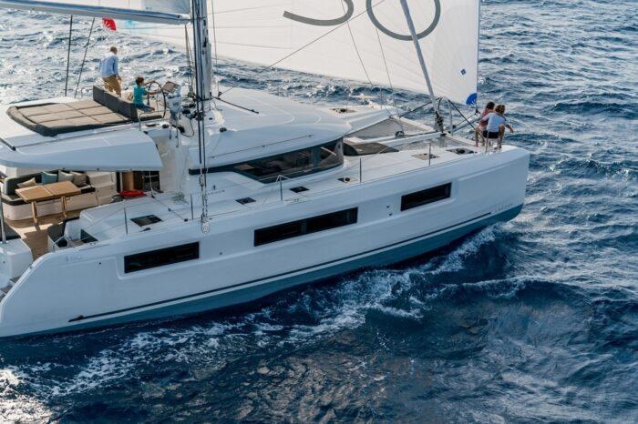 Split round trip on sailing yacht Lagoon 50