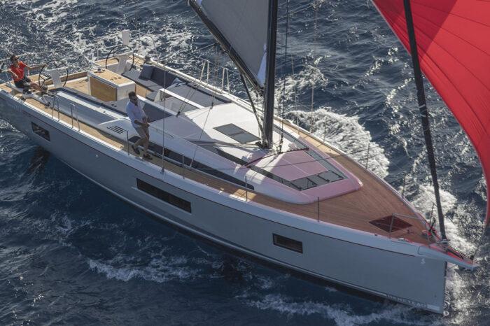 Split round trip on sailing yacht Beneteau Oceanis 51.1