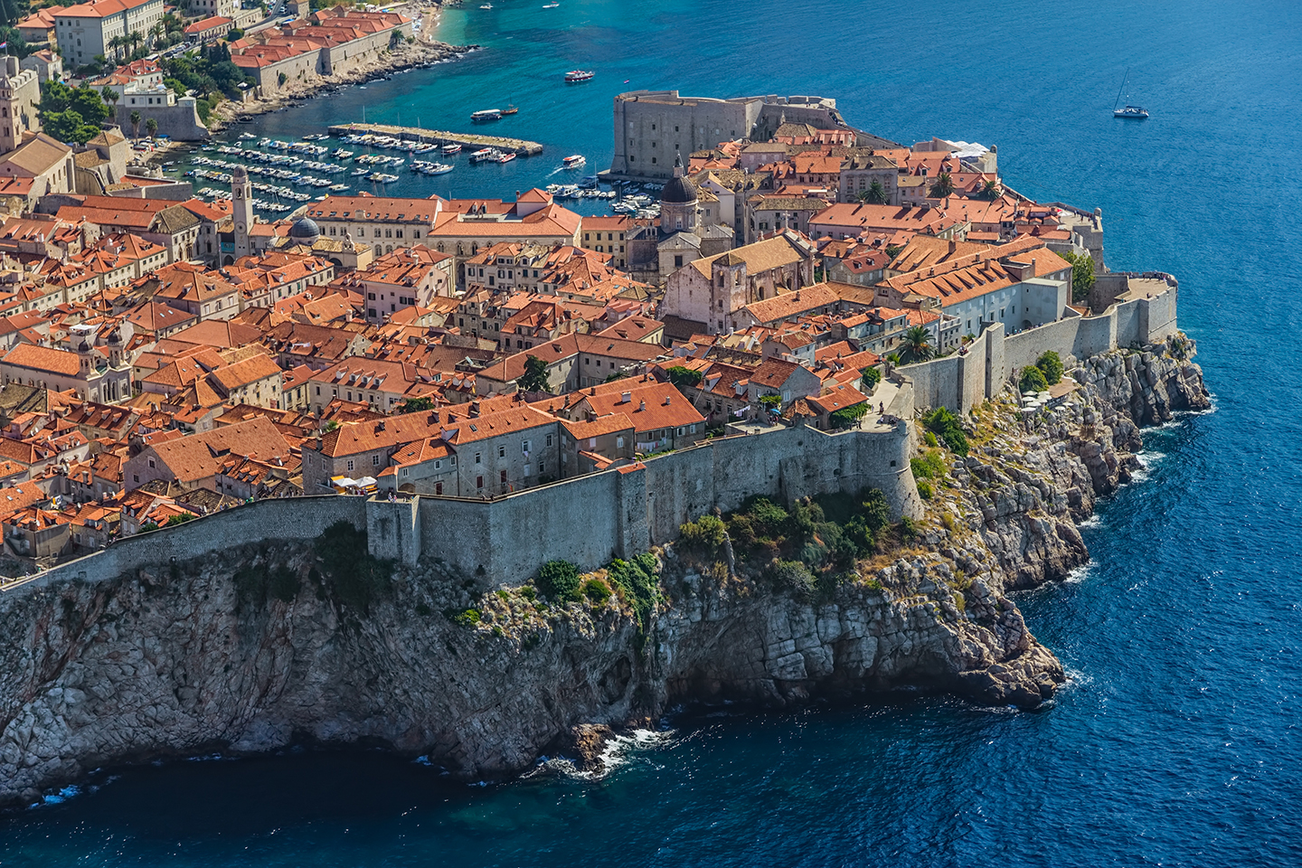 Dubrovnik from the sea