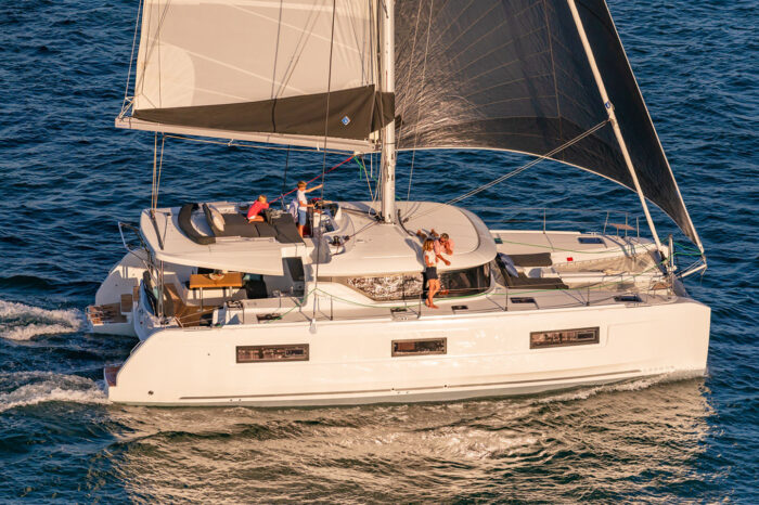 Split to Dubrovnik on sailing yacht Lagoon 46